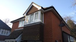 UPVC bargeboards, fascias and soffits