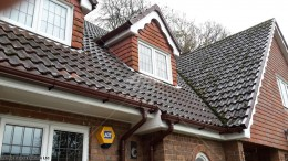 Guttering fascias and soffits