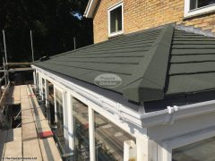 Convert conservatory roof to tiles with Equinox system