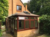 Replace Edwardian conservatory roof with equinox warm roof