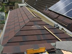 Equinox tiled conservatory roof installation