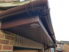 Replace wooden fascias with UPVC