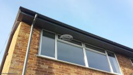 UPVC custom coloured fascias and soffits