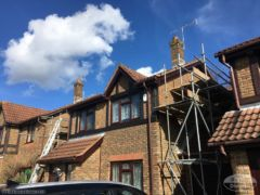 Full replacement soffit, fascia and guttering in Crawley