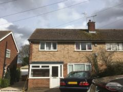 Replace fascia, soffit and guttering to semi-detached house