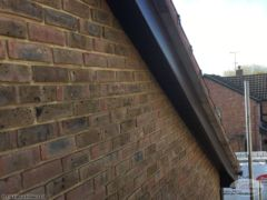 Replace wooden bargeboards with UPVC in Crawley