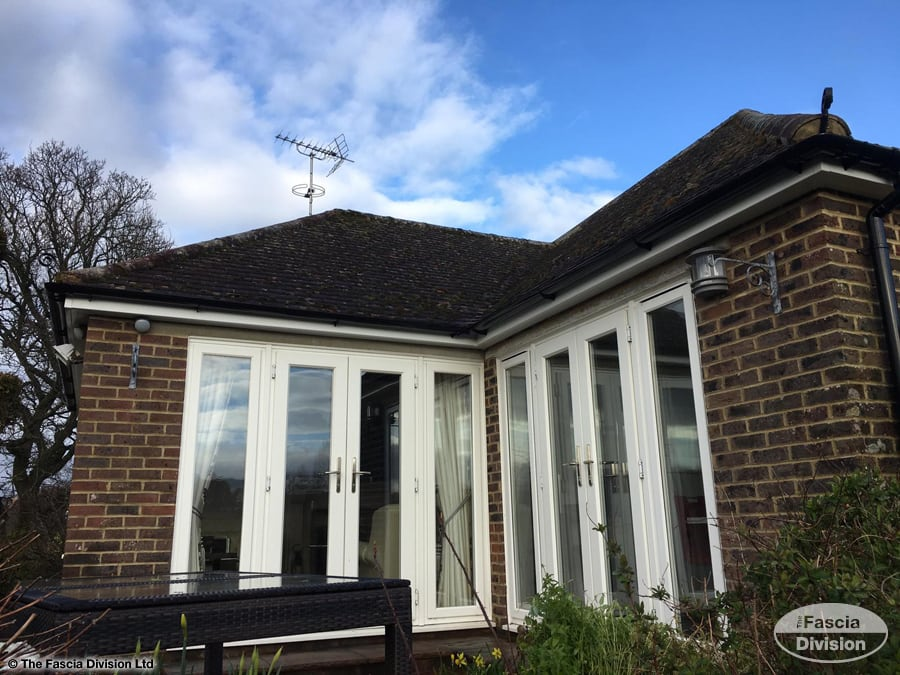 Replace Soffits Fascias And Guttering On A Bungalow In