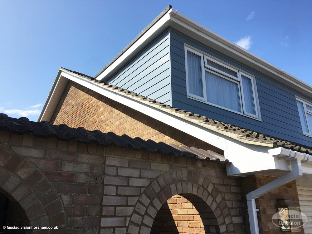 fascias, soffit, guttering and cladding installation